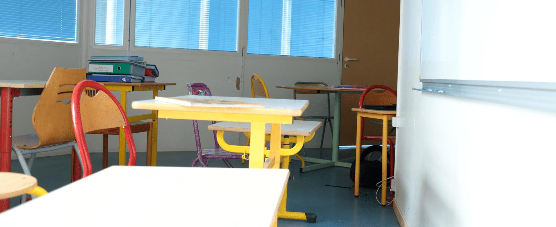 ITEP La Boissière salle de classe