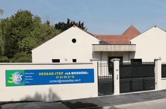 Entrée de l'établissement du SESSAD ITEP La Boissière
