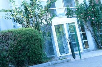 Entrée de l'établissement ITEP La Boissière
