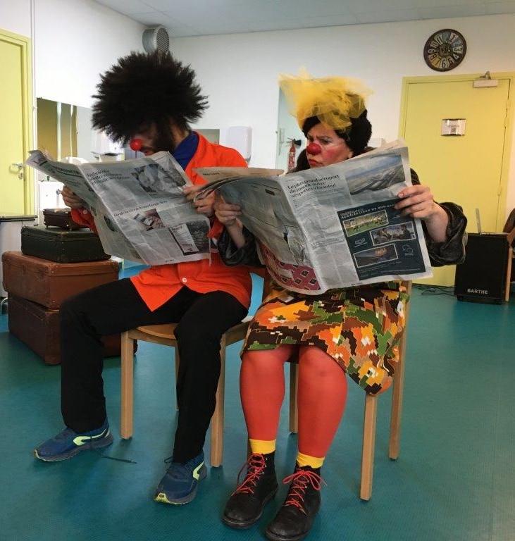 Des clowns à l'IME le Pré d'Orient !
