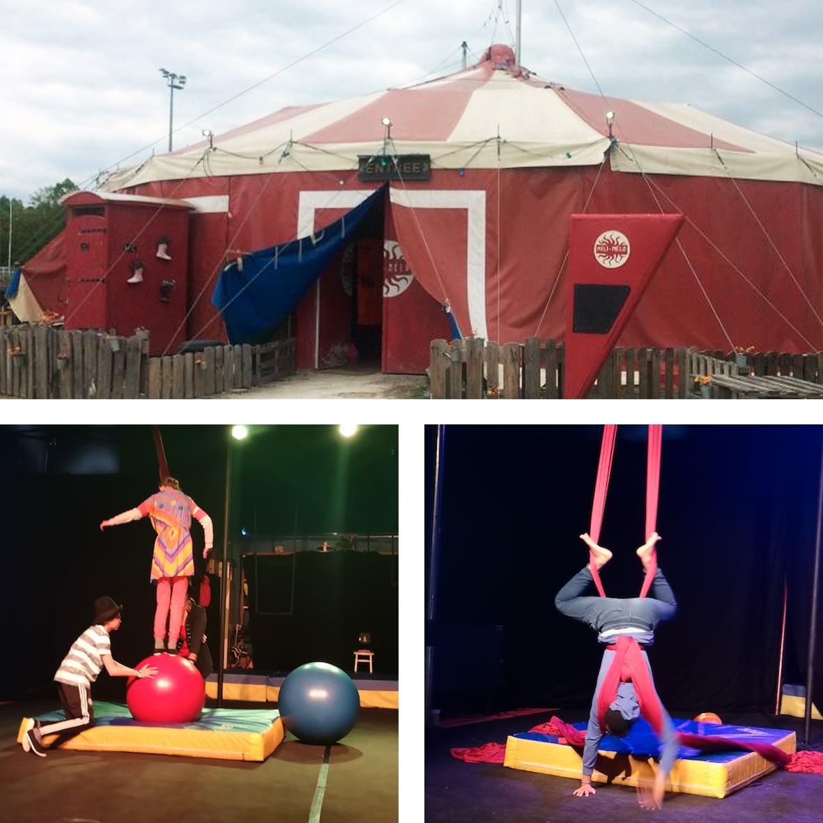 Des jeunes de l'EMPro donnent un spectacle de cirque !